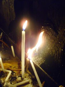Candles Burned at the Holy Sepulchre