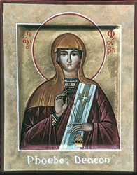 Icon of Phoebe the Deacon