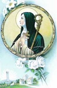 Holy Card of St Brigid
