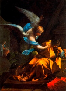 Goya -- Dream of St Joseph