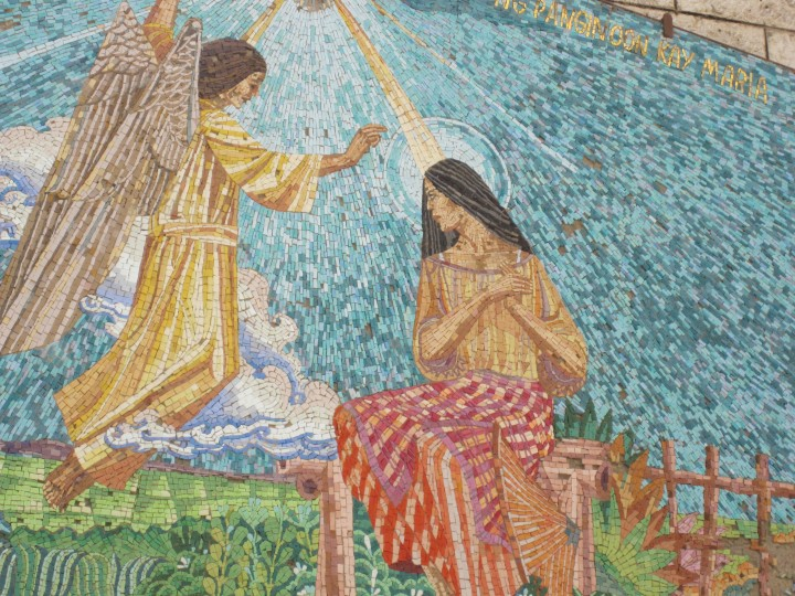 Annunciation from the Philippines, Church of the Annunciation, Nazareth