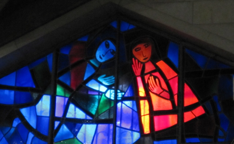 Window from the Church of the Annunciation, Nazareth