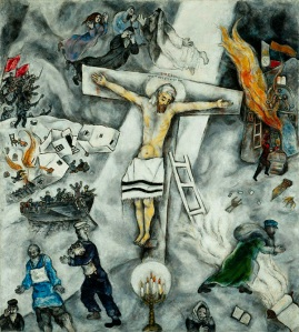 "Marc Chagall, ""White Crucifixion,"" 1938"