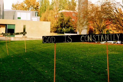 """God is Constantly Coming Out to Us,"" Seattle University"