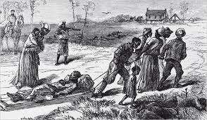 Survivors Leaving the Scene of the Colfax Massacre