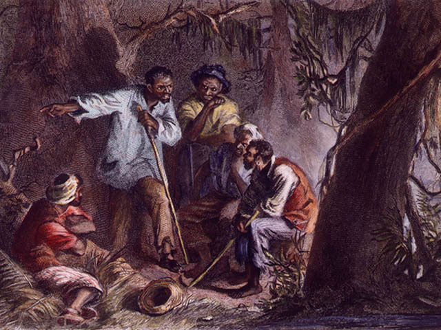 Nat Turner Preaches Religion