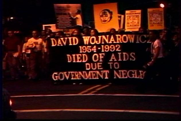 David Wojnarowicz's Political Funeral