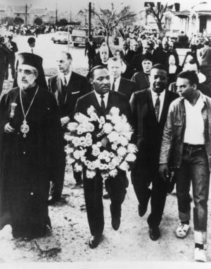 Abp. Iakovos and MLK