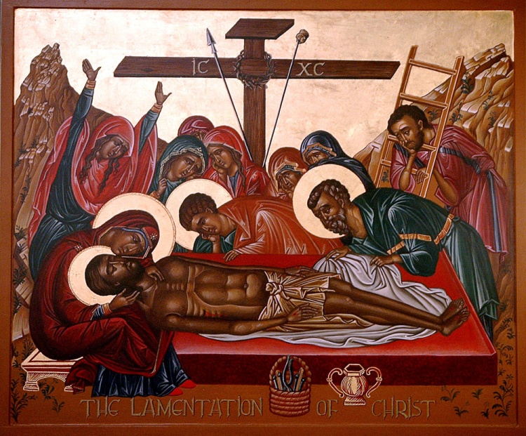 The Lamentation of Christ, Trinity Iconographers Institute