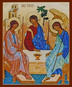 Holy Trinity, by a Nun of New Skete