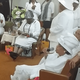 COGIC Church Mothers Section
